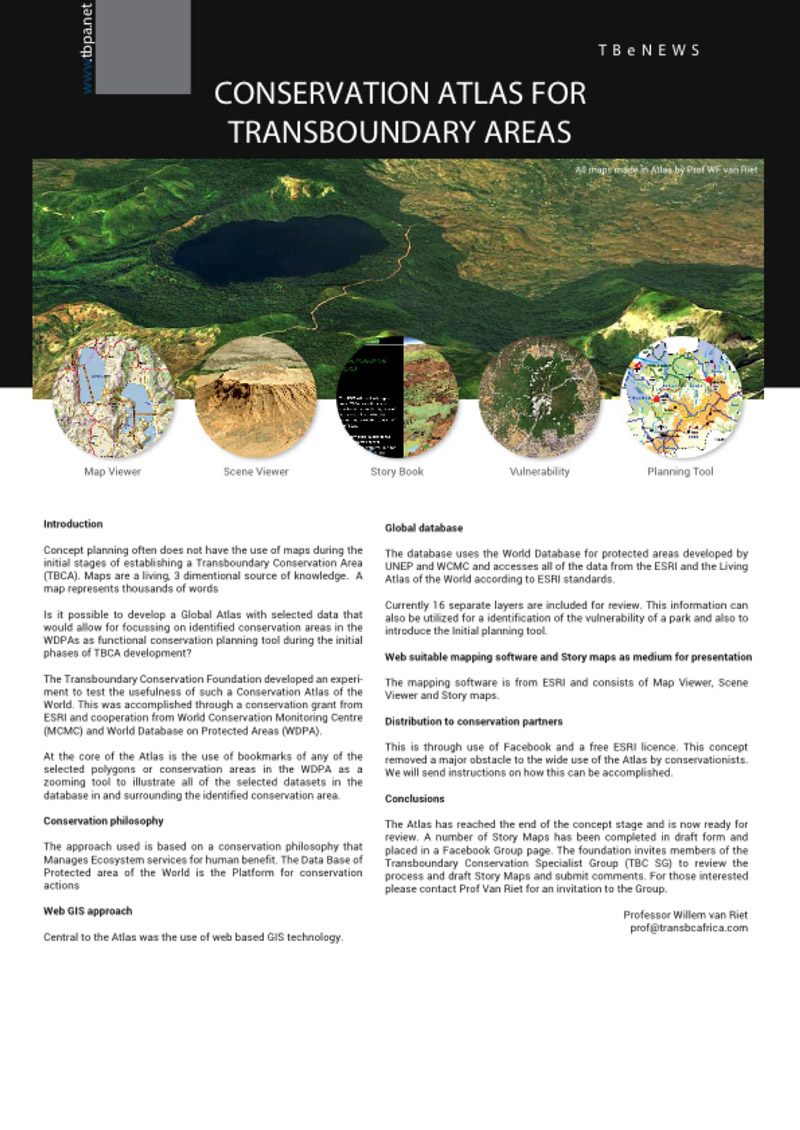 Transboundary Final Article Design