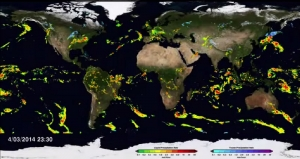 Rainfall & Snow Maps of the Globe
