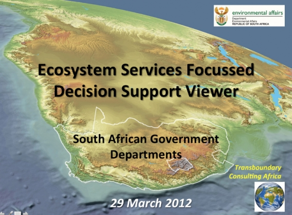 2 - Ecosystem Services - A Decision Support Tool